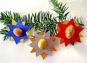 Sterne Weihnachten Basteln : sterne mit nussschalen weihnachten basteln meine enkel und ich ~ Eleganceandgraceweddings.com Haus und Dekorationen