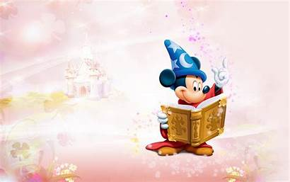Mickey Mouse Background Wallpapers Vector Sorcerer Backgrounds