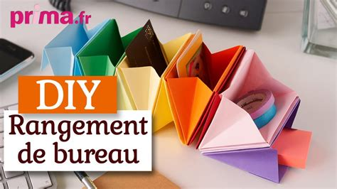 bureau pratique et design faire un rangement de bureau en origami tuto diy