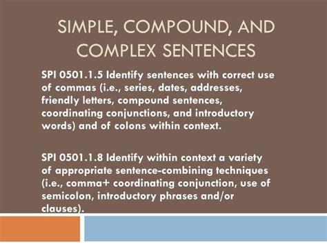 simple compound  complex sentences powerpoint