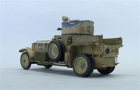 rolls royce armored car panzerserra bunker military scale models in 1 35 scale