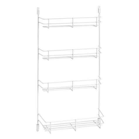Wire Spice Rack by Rev A Shelf 565 8 52 7 7 8 W White Wire Spice Rack Door