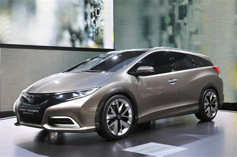 Honda Civic Tourer Concept Shows The Shape Of European