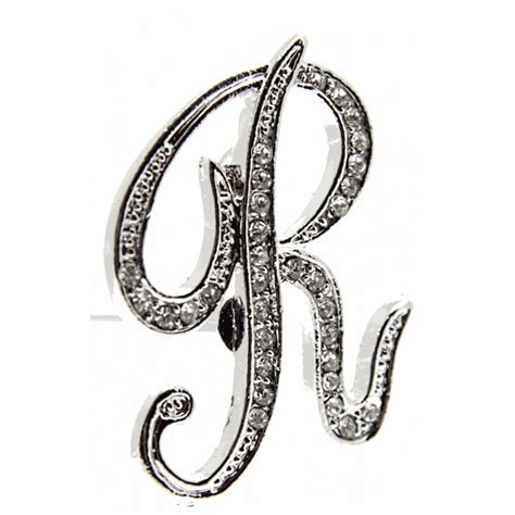 monogram letters  silver corsage creations