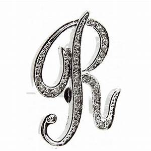 monogram letters r silver corsage creations With silver monogram letters