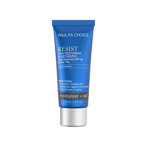 resist skin restoring moisturizer  spf  paulas