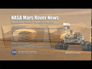 NASA Teleconference - Mars Rover Curiosity Observations ...
