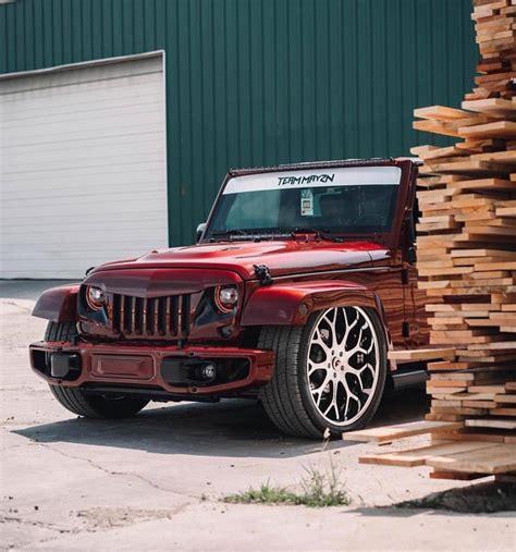 slammed  tucked jku jeep wrangler tj forum