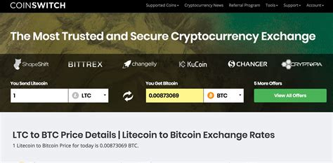 Easily convert your bitcoin cash (bch) cash address to legacy and back with our simple to use bitcoin tool. How To Convert Litecoin (LTC) To Bitcoin (BTC) From CoinSwitch