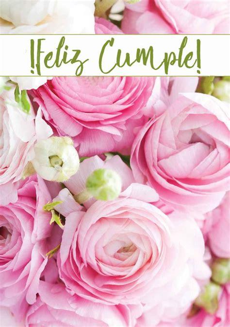 feliz cumpleanos happy bday happy birthday flower