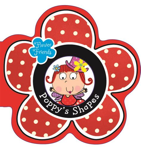 poppys shapes kids entertainment board books friend book