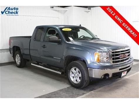 on board diagnostic system 2012 gmc sierra 1500 electronic toll collection buy used used 12 gmc sierra k1500 ext cab 4x4 v8 sle cloth tow package running boards in aledo
