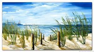 Strandbilder Auf Leinwand : wandbilder mia morro meerblick ostsee nordsee kunstdrucke leinwand keilrahmen ~ Watch28wear.com Haus und Dekorationen