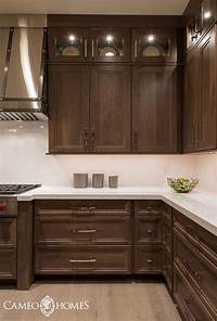 kitchen cabinet images 30 Gorgeous Kitchens With Dark Cabinets | For the Home | Kitchen Cabinets, Stained kitchen ...