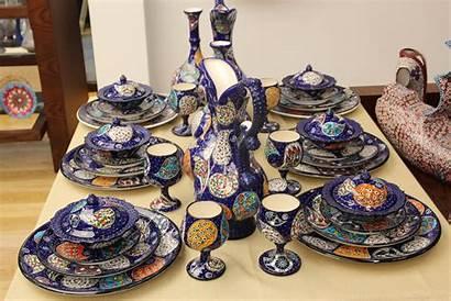 Turkish Dinnerware Ceramic Six Bazaar Grandbazaarshopping Grand