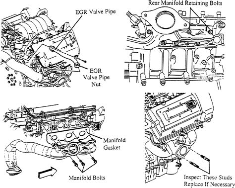 1998 Lumina Engine Diagram Exhaust by Repair Guides Engine Mechanical Exhaust Manifold