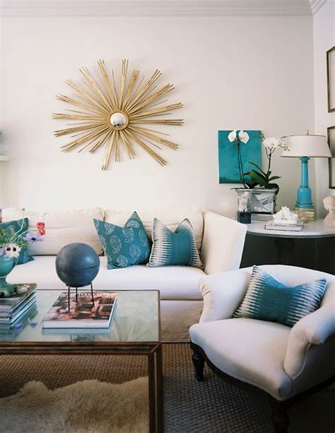 turquoise ls contemporary living room lonny magazine