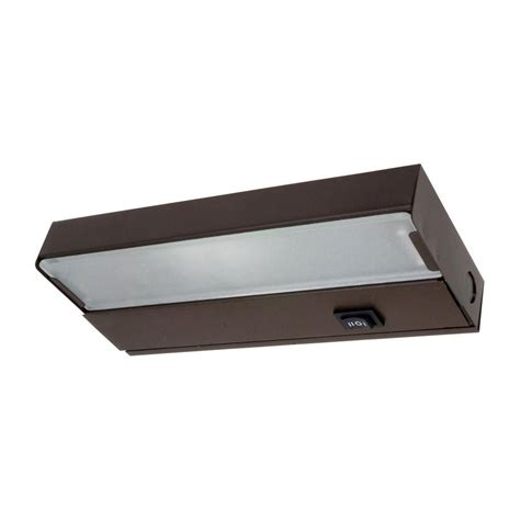 8 in xenon bronze cabinet light fixture 10350ob