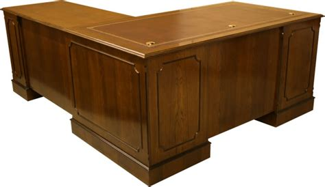office desk corner insert yew and mahogany reproduction bespoke desks a1 furniture