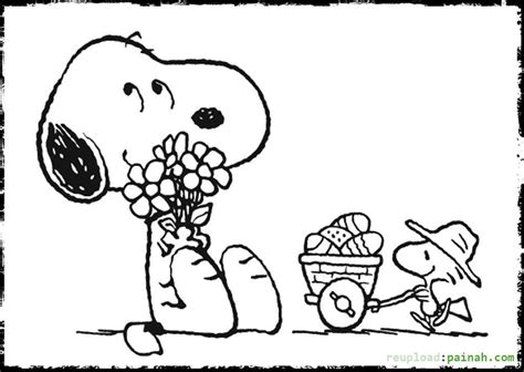 Free Snoopy Coloring Book Pages