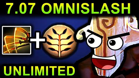 dota 2 gameplay patch unlimited omnislash juggernaut dota 2 patch 7 07 new meta pro gameplay youtube
