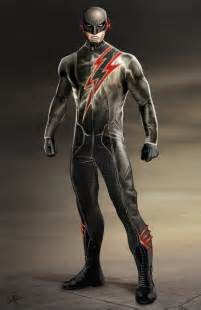 CW The Flash Costume Concept Art