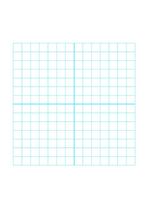 numbered  quadrant grid