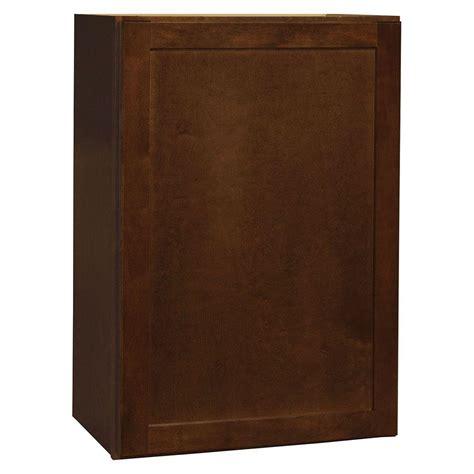home depot cognac cabinets hton bay hton assembled 30x12x12 in wall bridge