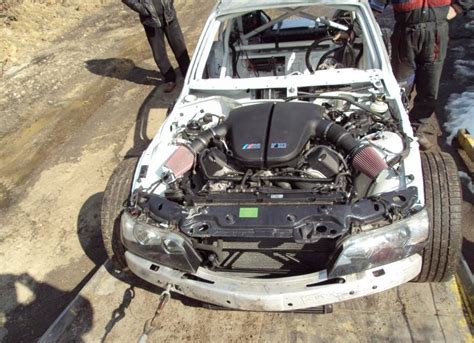 Bmw V10 Engine by Bmw Z3 Gets M5 V10 Engine For Bulgarian Racing Autoevolution