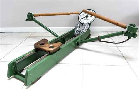 Vintage 1940s Rowing Machine A G Spalding And
