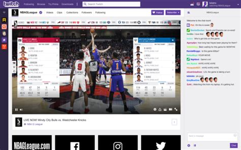 amazons twitch   stream nba  league games