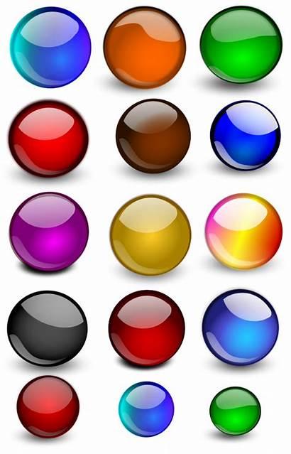 Orb Balls Orbs Glossy Clipart Vector Cliparts
