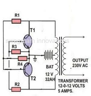 making  simple inverter circuit