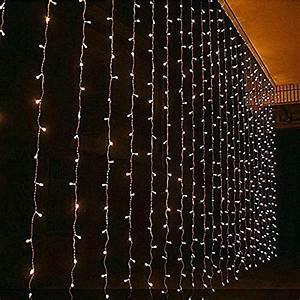 Lichterkette Vorhang Innen : lichternetz led lichterkette baumbeleuchtung 240 warmweia 3 3 m ip44 netz gra 1 4 n innen amazon ~ Orissabook.com Haus und Dekorationen