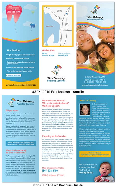 Free Dental Brochure Templates by Brochures Hm Fusion