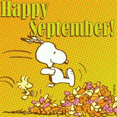 September Images Snoopy Happy September Pictures Photos And Images For