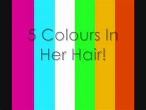 McFly 5 Colours In Her Hair Lyrics