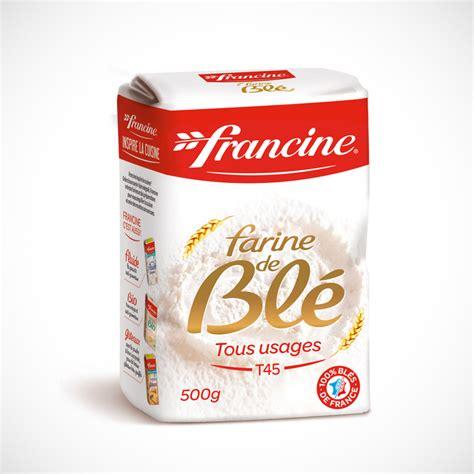 meilleur marque de cuisine farine blé au format 500g francine la farine de blé de