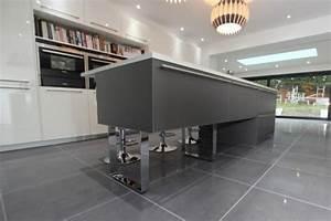 Plan De Travail Gris Anthracite : plan de travail gris anthracite stunning decoration beton ~ Dailycaller-alerts.com Idées de Décoration