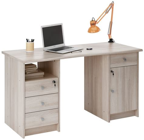 bureau amazon demeyere meubles bureau monaco 135 cm eikdecor collishop