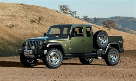 unwrapping  jeep wrangler pickup truck news ledge