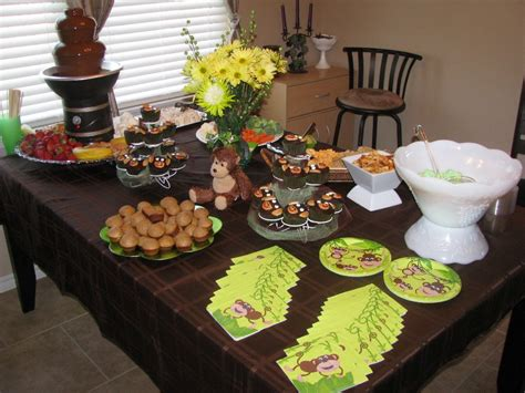 How To Throw Baby Shower With Monkey Theme Free