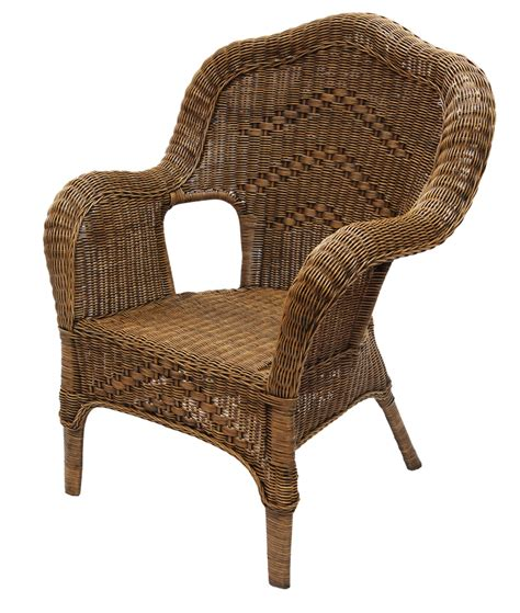 antique brown wicker rattan outdoor chair ebay