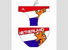 Water polo swimsuit Netherland Flag Turbo
