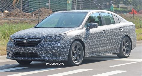 2020 Subaru Legacy Now With Less Camo