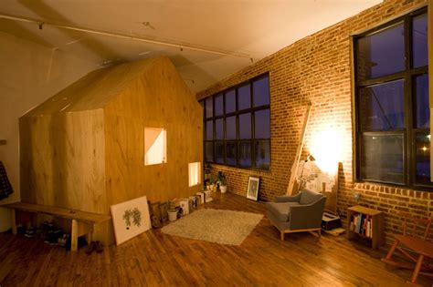 Small Loft In An School by A Small Space Cabin In A Loft