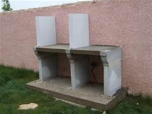 Construire Barbecue Beton Cellulaire : elevation du foy construire son barbecue ~ Dailycaller-alerts.com Idées de Décoration