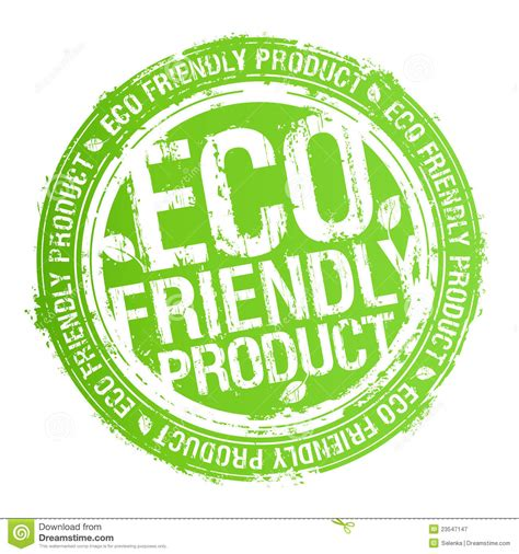 Eco Friendly Product Stamp Stock Vector  Image 23547147