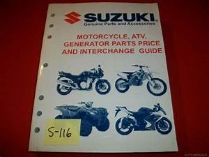 Suzuki Motorcycle Atv Generator Parts  U0026 Interchange Guide
