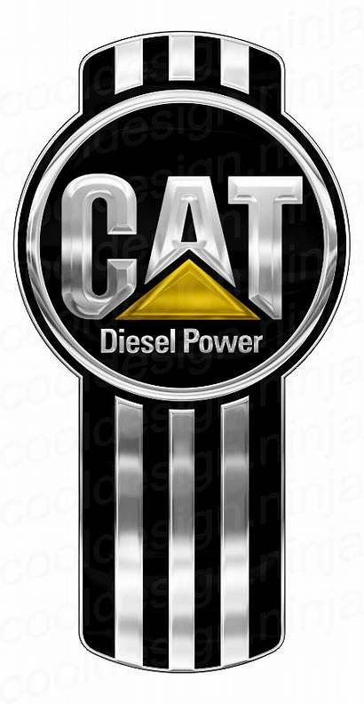 Cat Kenworth Diesel Power Emblem Skin Custom